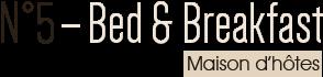N5 Bed & Breakfast  – Maison d'hotes haut de gamme a Liege